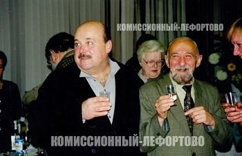 Заслуженный артист РСФСР Писаренко Юрий Павлович и Народный артист РСФСР Калягин Александр Александрович 2000 гг.