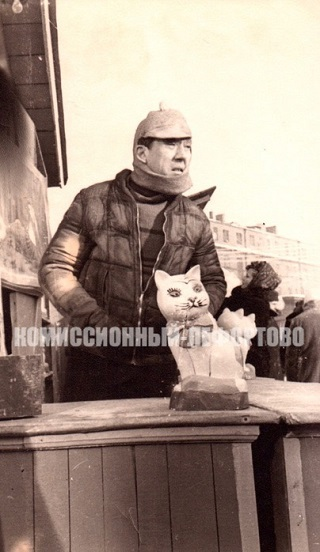 Юрий Никулин в художественном фильме Леонида Гайдая Операция «Ы» и другие приключения Шурика фото 1965 год.