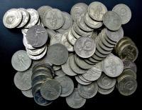 1 рубль 1965 1967 1970 1975  Юбилейные монеты СССР.
