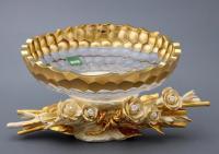 чаша декоративная анемоны