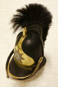 каска кирасирского полка 1812 года.