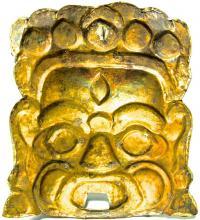 маска грозного Буддийского божества Тибет 1970 гг.
