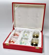 Мозер набор из 6  бокалов  фауна, Чехословакия 1970е гг.
