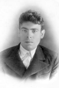Михаил Будкеев перед войной 1940 гг.