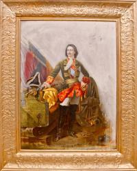 портрет «Петра Великого», конец XIX века