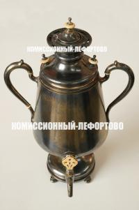 серебряный самовар антикварный серебро Российская империя 1899 год.