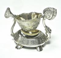 ситечко для заваривания чая, серебро 875 проба, Вьетнам 1970 гг.