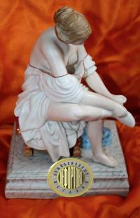 статуэтка «За туалетом», гарднер до 1917 года