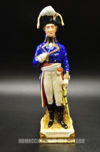 статуэтка генерал наполеоновской армии «Kellermann», германия 1970 гг.