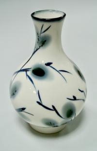ваза воробей на вербе лфз, период ссср, вторая половина ХХ века.