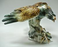 жанровая скульптура «Орёл на охоте», румыния 1980 гг.