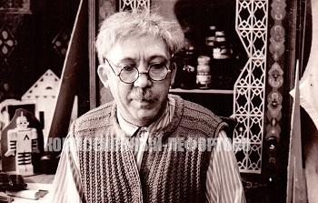Юрий Никулин (Фёдор Фёдорович, резчик-любитель) в художественном фильме Ролана Быкова «Телеграмма» фотография 1971 год.