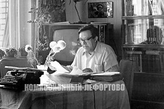 Юрий Никулин, работа над книгой «Почти серьезно» фото 1980 гг.