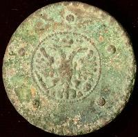 5 копеек 1727 год крестовик