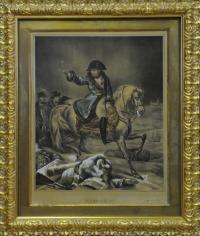 гравюра наполеон европа конец XIX века