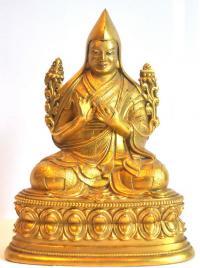 лама цонкапа скульптура Монголия Дзанабазар