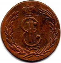 2 копейки 1767 год КМ