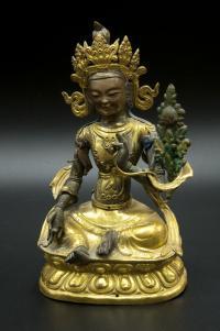 зелёная тара скульптура буддийского пантеона