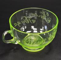 чайная чашка стекло до 1917 года.