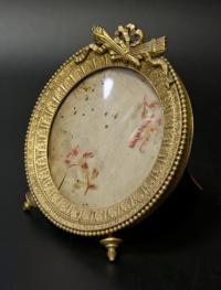 рамка для фото русская бронза XIX век.