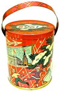 ёлочные игрушки 1950 - 1960 гг.