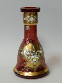 ваза богемия смальта