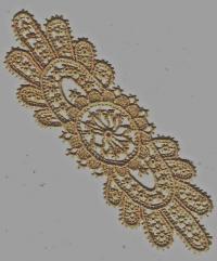 старинное лионское кружево