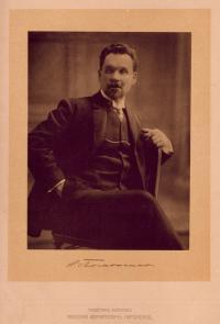 Академик живописи Николай Корнильевич Пимоненко 1910 год.
