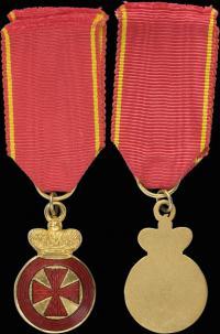 Анненская медаль, фрачная