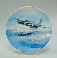 авиация самолёты тарелка коллекционная, Англия