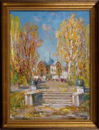 картина «Барнаульский планетарий» - собственность магазина комиссионный лефортово