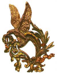 бронзовая накладка, конец XVIII  начало XIX вв.