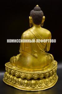 Будда Шакьямуни храмовая скульптура буддийского пантеона