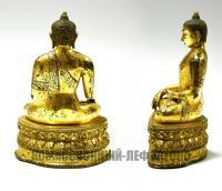 Будда Шакьямуни, скульптура буддийского пантеона конец XIX века.