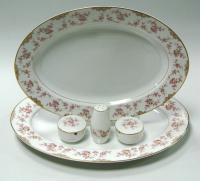 Cервиз столовый 12 персон Китайская Роза Noritake Япония 1950-1960 гг.