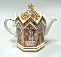 чайник коллекционный Sadler Англия король Генрих VIII