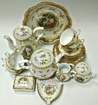 Чайный сервиз мадонна Oscar Schlegelmilch 1950 год.