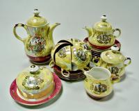 чайный сервиз на 6 персон Японки Eisenberg ГДР 1970 гг.