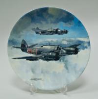 coalport самолёты коллекционная тарелка Англия