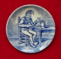 декоративные тарелки, королевский Делфтский фарфор, 1960 гг.