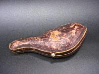мундштук в футляре резьба - Echt Meerschaum начало XX века.