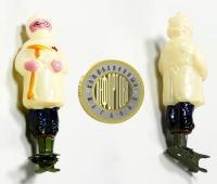 Ёлочная игрушка на прищепке «Доктор айболит», период ссср 1950 гг.