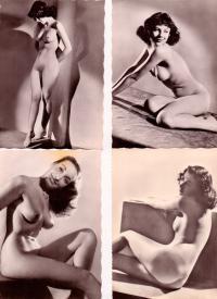 эротические французские открытки editions chantal 1970 гг.