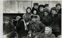 фото Ю. В. Никулин на съёмках кинокартины двадцать дней без войны.