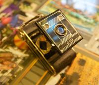 фотоаппарат Agfa-clack арт-деко.
