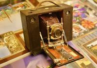 фотоаппарат Eastman-Kodak 1882 год.
