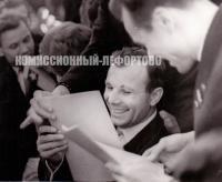 фотография Юрий Гагарин 1963 год.