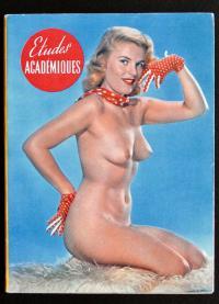 Французский эротический журнал Этюды академические, Париж 1970 гг.