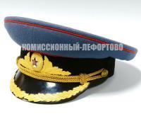 фуражка парадная офицерская, период ссср 1960 гг.