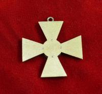 георгиевский офицерский крест IV серебро 925 проба, позолота, эмаль